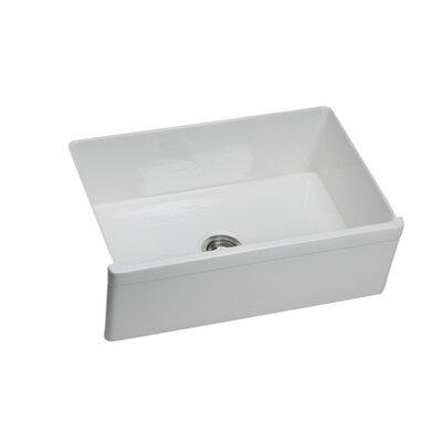 "White Undermount Kitchen Sinks elkay explore 29.88"" x 19.75"" undermount kitchen sink & reviews"