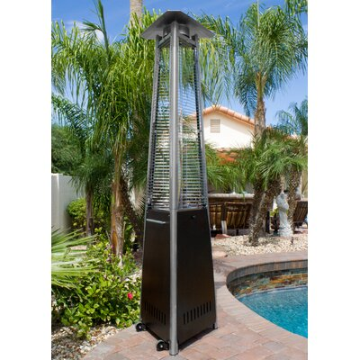 AZ Patio Heaters 38,000 BTU Natural Gas Patio Heater U0026 Reviews   Wayfair  Az Patio Heaters