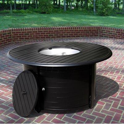 AZ Patio Heaters Extruded Aluminum Propane Fire Pit Table U0026 Reviews |  Wayfair