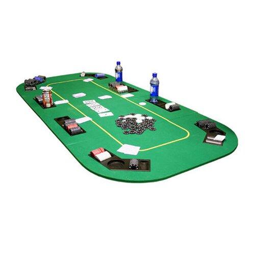 JP Commerce Texas Hold'em Folding Folding Folding Poker Table Cover ad52bc