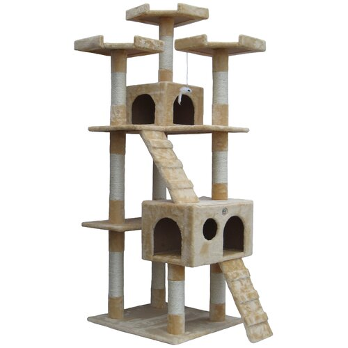 "Best cat carrier - 72"" Mya Cat Tree by Go Pet Club"