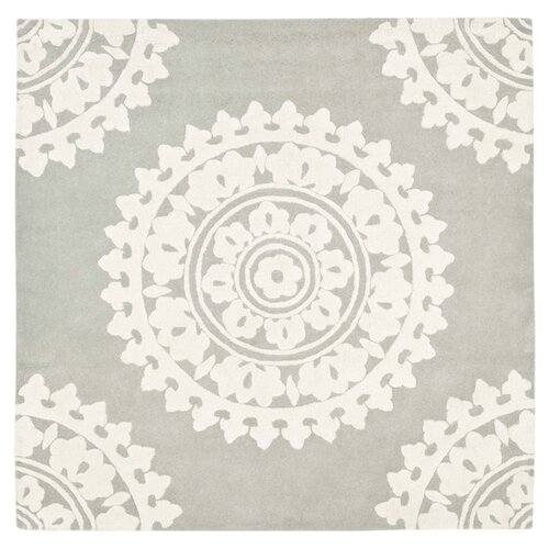 hawley woven gray ivory area rug amp reviews allmodern 18598