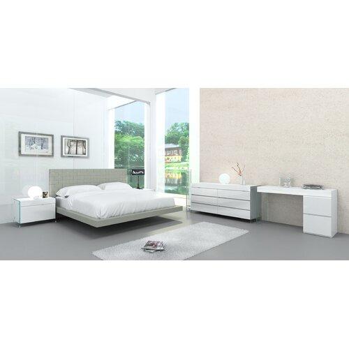 Zack Upholstered Platform Bed Amp Reviews Allmodern
