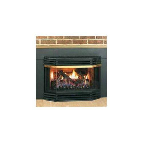 Napoleon Bay Window Glass Door Gas Fireplace - Napoleon Bay Window Glass Door Gas Fireplace & Reviews Wayfair