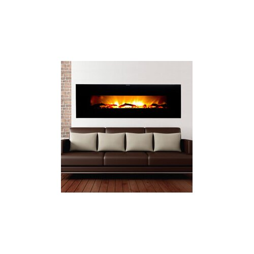 Warm House Valencia Extra Wide Wall Mount Electric Fireplace - Warm House Valencia Extra Wide Wall Mount Electric Fireplace