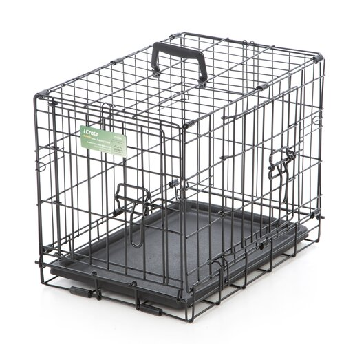 Best dog crate - iCrate Double Door Pet Crate by Midwest Homes For Pets