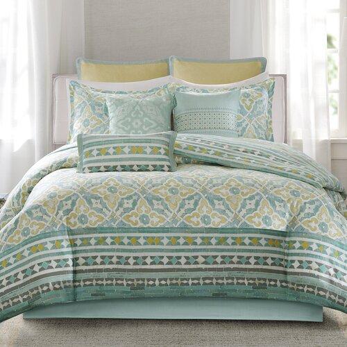Echo Design Lagos Reversible Comforter Set Amp Reviews Wayfair