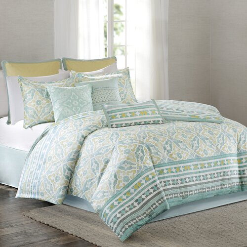 Echo Design Lagos Reversible Comforter Set Amp Reviews Wayfair