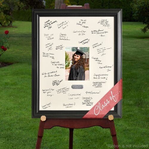 quick view personalized gift laser engraved celebrations graduation signature picture frame