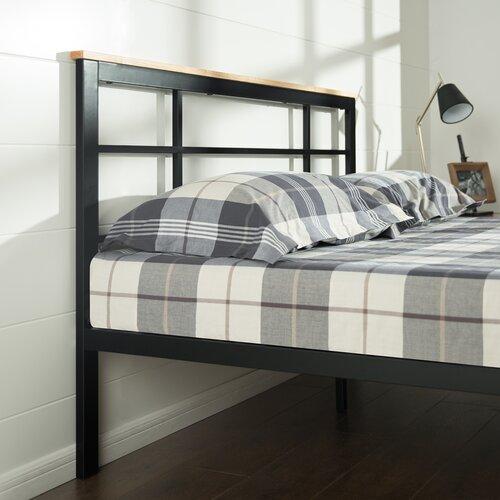 Zinus Urban Metal Wood Platform Bed