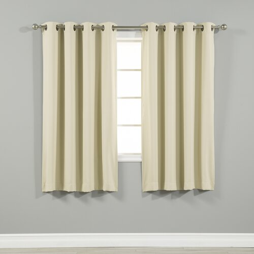 Best Home Fashion, Inc. Grommet Top Insulated Blackout Thermal Curtain  Panels - Best Home Fashion, Inc. Grommet Top Insulated Blackout Thermal