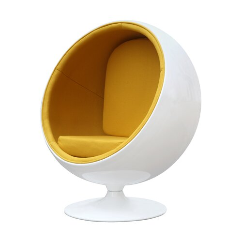 Fine Mod Imports Ball Chair Amp Reviews Wayfair