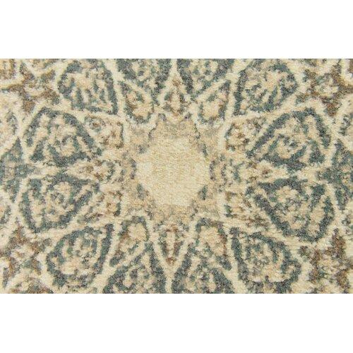 Lark Manor Pauley Sage Green/Cream/Brown Area Rug