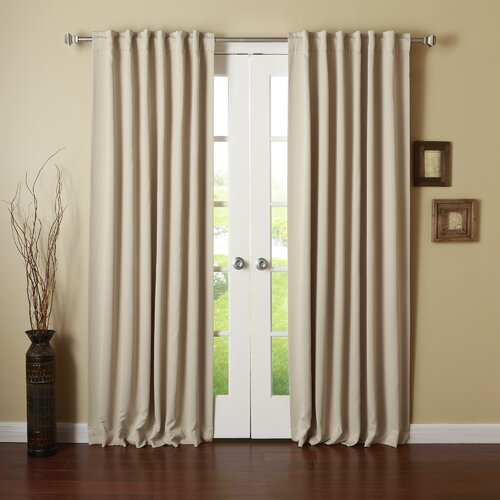 Beachcrest Home Sweetwater Room Darkening Thermal Blackout Curtain Panels. Beachcrest Home Sweetwater Room Darkening Thermal Blackout Curtain