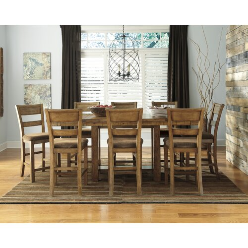 Loon Peak Cowley Counter Height Extendable Dining Table & Reviews