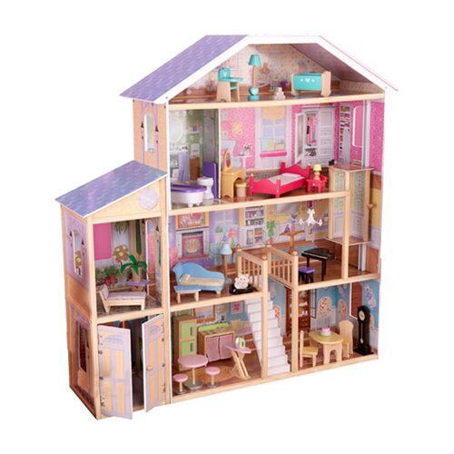 Kidkraft Majestic Mansion Dollhouse With Furniture Roselawnlutheran