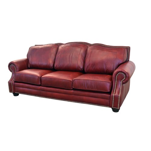 Best Genuine Leather Sectional Sofa: Westland And Birch Winchester Genuine Top Grain Leather