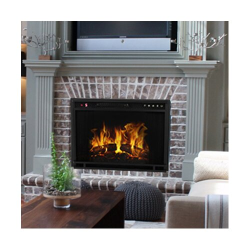 Gibson Living Ventless Wall Mount Electric Fireplace Insert - Gibson Living Ventless Wall Mount Electric Fireplace Insert Wayfair