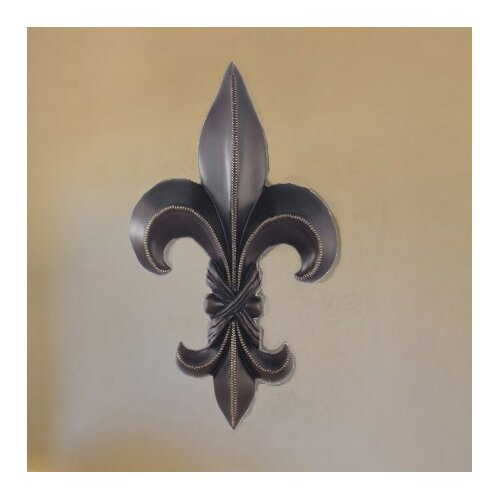 Homestyle Collection Fleur-De-Lis Sculpture Wall Decor