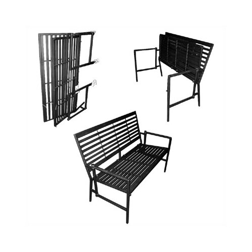 Pangaea Iron Folding Garden Bench Reviews – Outdoor Iron Bench
