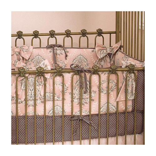 Harriet Bee Rutledge 4 Piece Toile Crib Bedding Set
