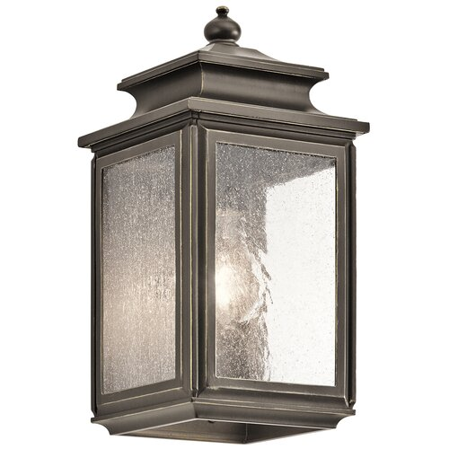 Kichler Wiscombe Park 1Light Outdoor Flush Mount  Reviews  Wayfair