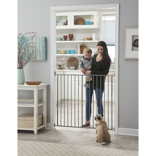 white pet gate