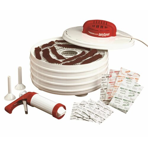Jerky Express Food Dehydrator and Beef Jerky Kit by Nesco