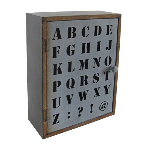 Alphabet Wall Cabinet