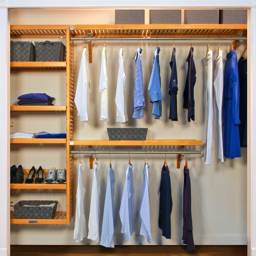 John Louis Home 120W Closet System