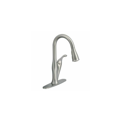 Moen Benton Single Handle Kitchen Faucet & Reviews | Wayfair