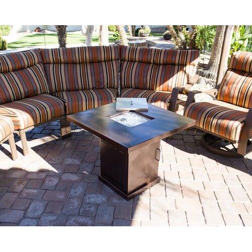 AZ Patio Heaters Steel Propane Fire Pit Table - AZ Patio Heaters Steel Propane Fire Pit Table & Reviews Wayfair