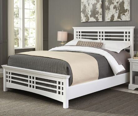 avery cottage white wood bed - White Wood Bed Frame