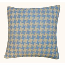 Discount Houndstooth Outdoor Throw Pillow
