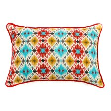 Chopped Outdoor Lumbar Pillow