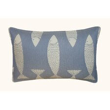 Salmon Outdoor Lumbar Pillow