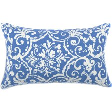 Vintage Floral Outdoor Lumbar Pillow