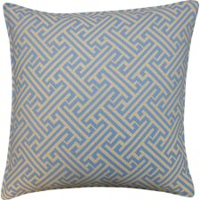 Wave Maze Outdoor Throw Pillow