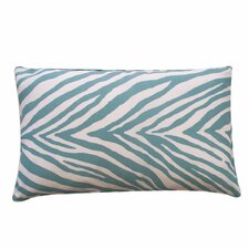 Zebra Outdoor Lumbar Pillow
