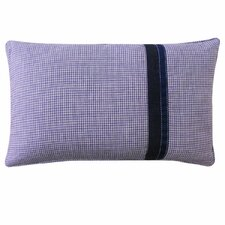 Kids Gingham Outdoor Lumbar Pillow