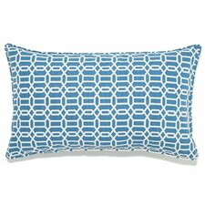 Spacial Price Mosaic Indoor/Outdoor Lumbar Pillow