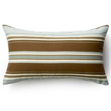 Best Choices Thick Horizontal Stripes Indoor/Outdoor Lumbar Pillow