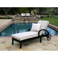 Monterey Chaise Lounge with Cushion