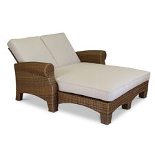 Santa Cruz Double Chaise Lounge with Cushion