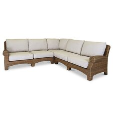 Wonderful Santa Cruz Sectional with Self Welt Cushions