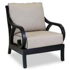 Monterey Club Chair with Self Welt Cushions