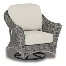 La Costa Swivel Rocking Chair with Cushions
