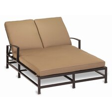 Savings La Jolla Double Chaise Lounge with Cushion