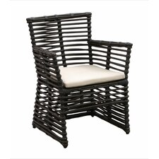 Venice Dining Arm Chair with Cushion