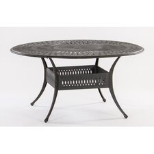 Roma Round Cast Aluminum Dining Table